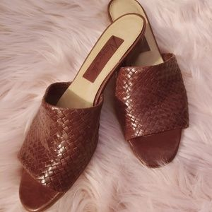 Imported Braided Mules